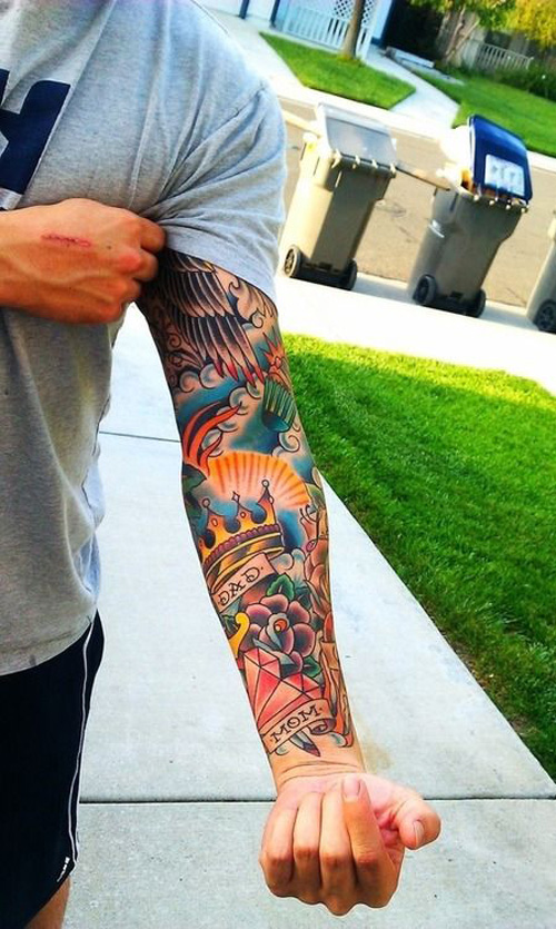 Colorful Sleeve