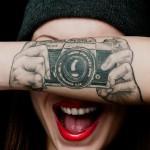 Camera Forearm Tattoo