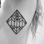Geometric Tattoo By Matt Matik