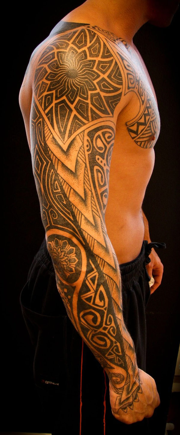 Intricate Tribal Sleeve