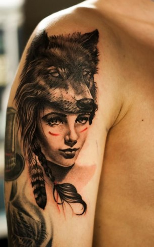 Little Red Riding Hood Tattoo
