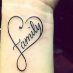 Love Family Tattoo