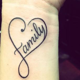 Love Family Tattoo