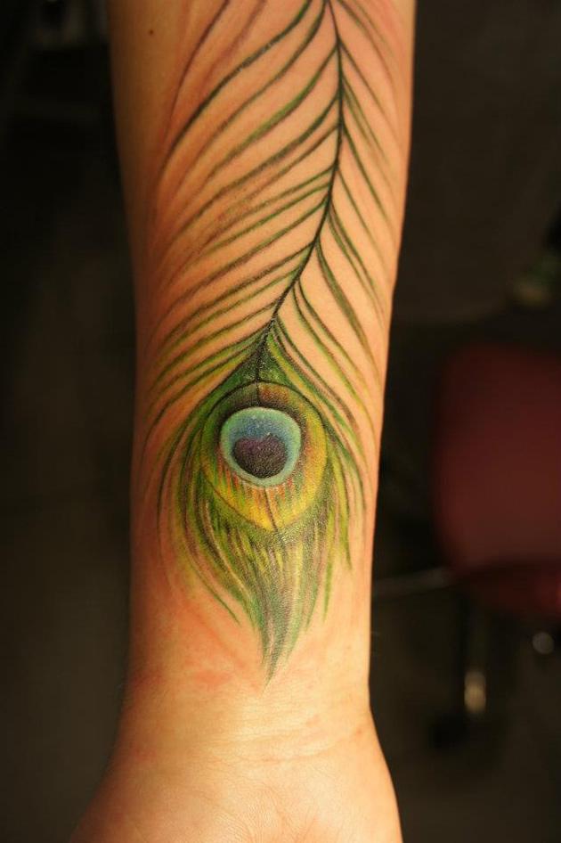 Peacock Feather Tattoo | Best tattoo design ideas