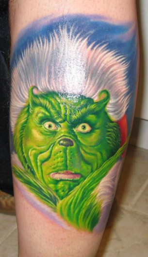 The Grinch Tattoo