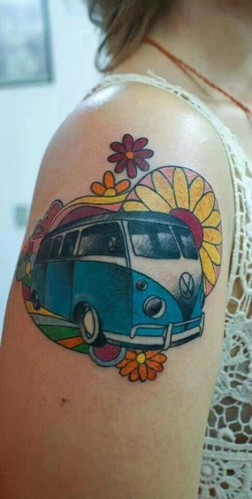 Vw Camper Tattoo Best Tattoo Ideas Amp Designs