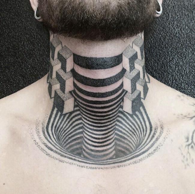 3D Neck Ink
