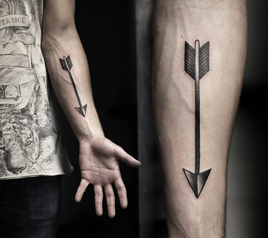 Arrow Forearm Tattoo | Best tattoo design ideas