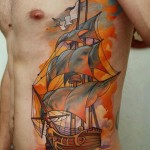 Awesome Sailing Ship