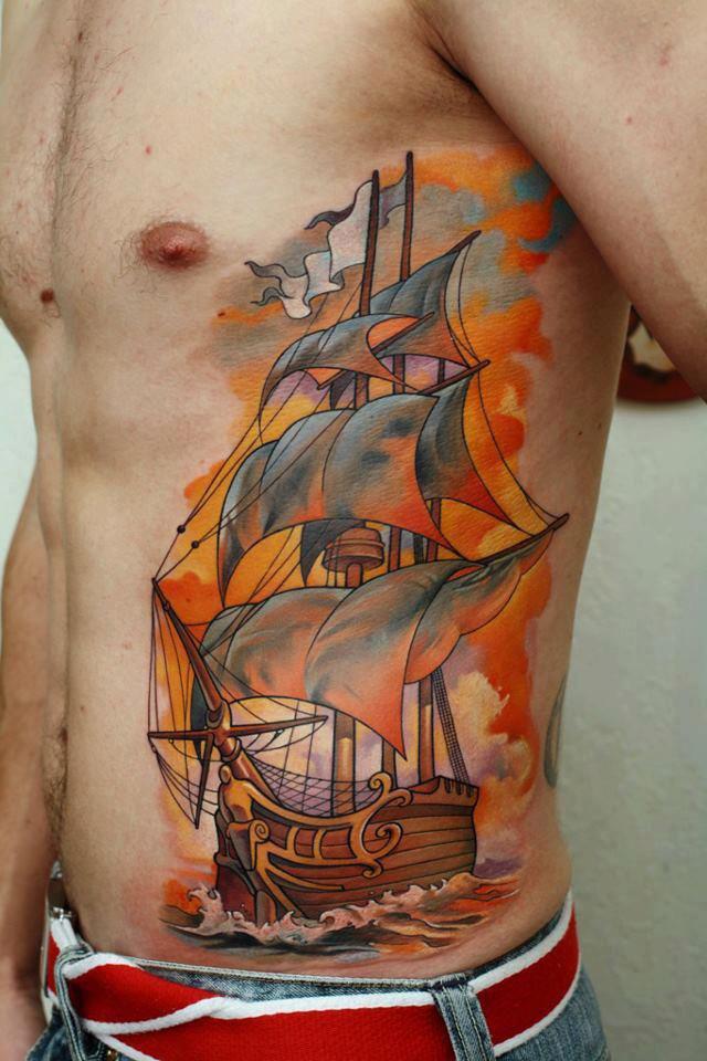 Awesome Sailing Ship