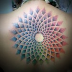 Colorful Mandala Tattoo