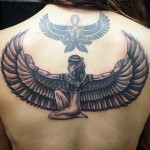 Egyptian Wings Tattoo