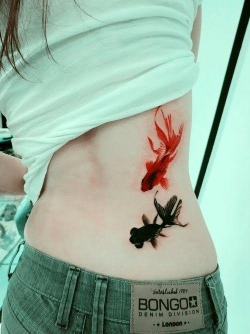 Fish Back Tattoo
