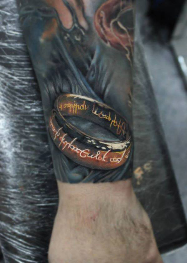 One Ring Tattoo