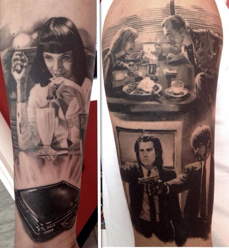 eaafdf9b0398f Pulp Fiction Sleeves | Best tattoo design ideas