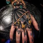 Storm Hand Tattoo
