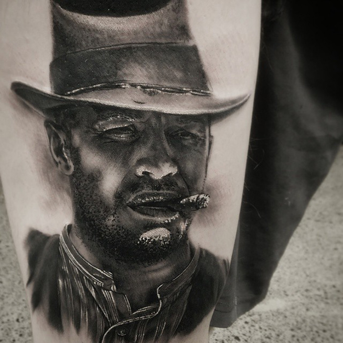Tom Hardy Lawless Tattoo