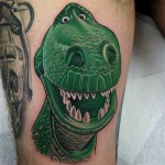 Toy Story Rex Tattoo