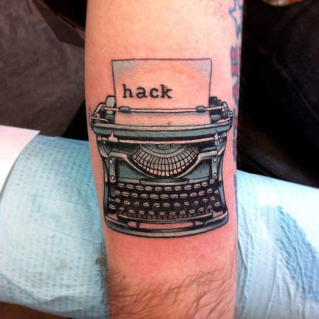 Typewriter Tattoo