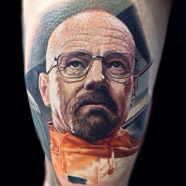 Walter White Tattoo