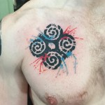 Dwennimmen Chest Tattoo