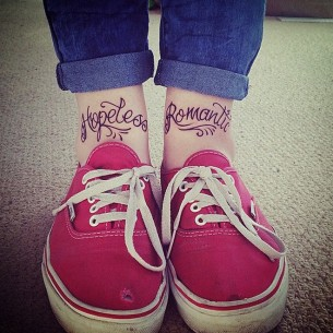 Hopeless Romantic Tattoo