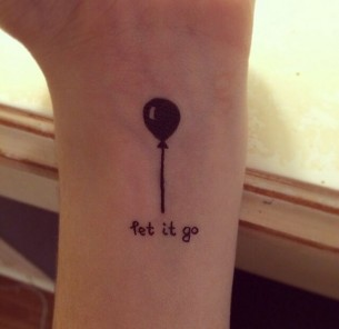 Let It Go Tattoo