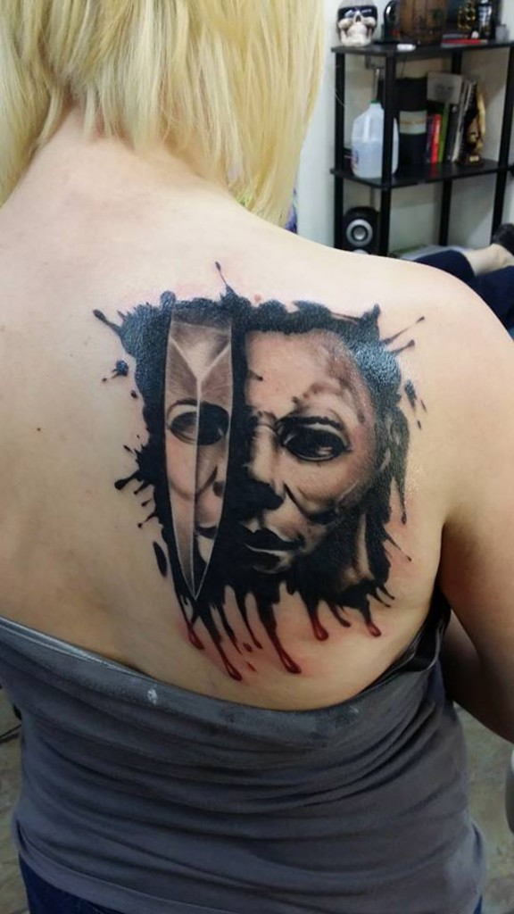 Michael Myers Tattoo