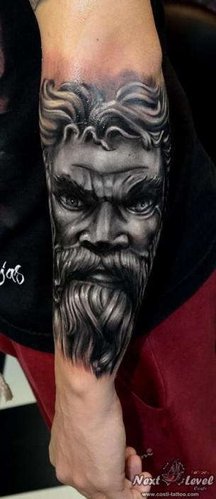 Moses Tattoo