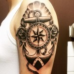 Nautical Arm Tattoo