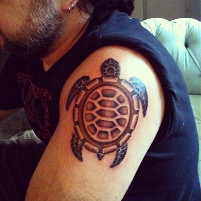 Turtle Arm Tattoo