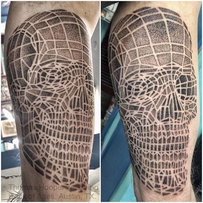 Dotwork Skull