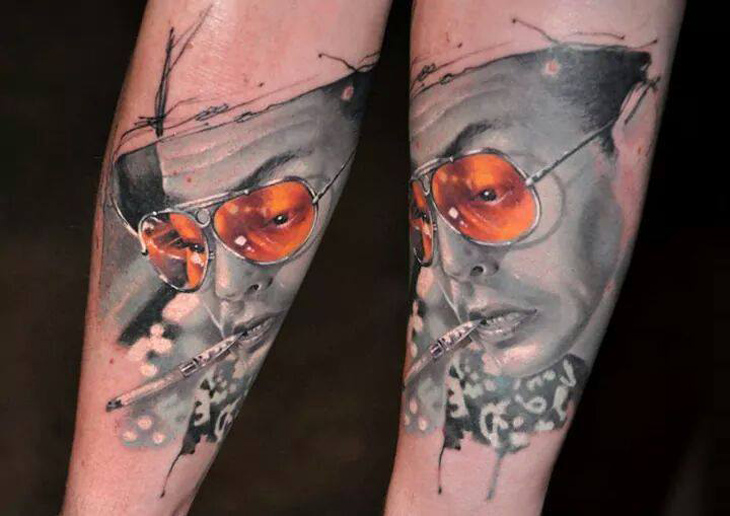 Fear and Loathing in Las Vegas Tattoo