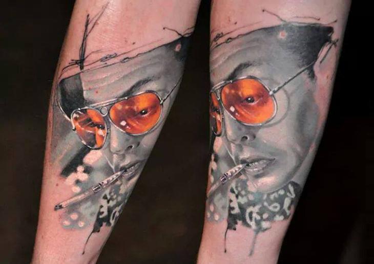 Fear and loathing in las vegas tattoo best tattoo design for Las vegas tattoo