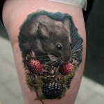 Field Mouse Tattoo