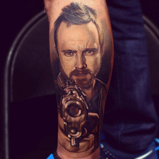 Jesse Pinkman Tattoo