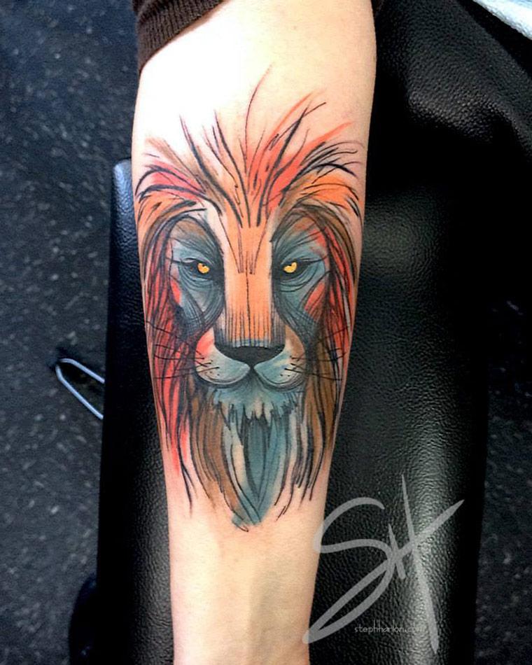 Lion tattoo best tattoo design ideas for Best lion tattoos