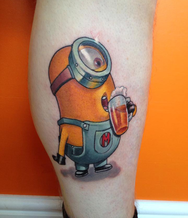 These People Actually Got A Minion Tattoo …Epic Win Or