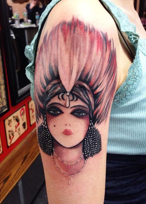 Showgirl Tattoo