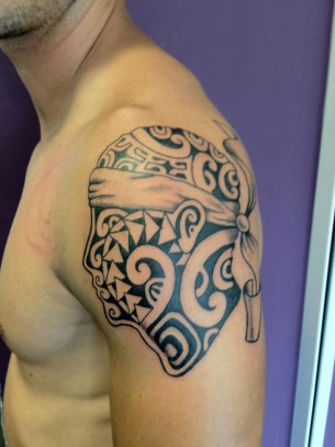 Tête de Maure: Corsican Flag Tattoo