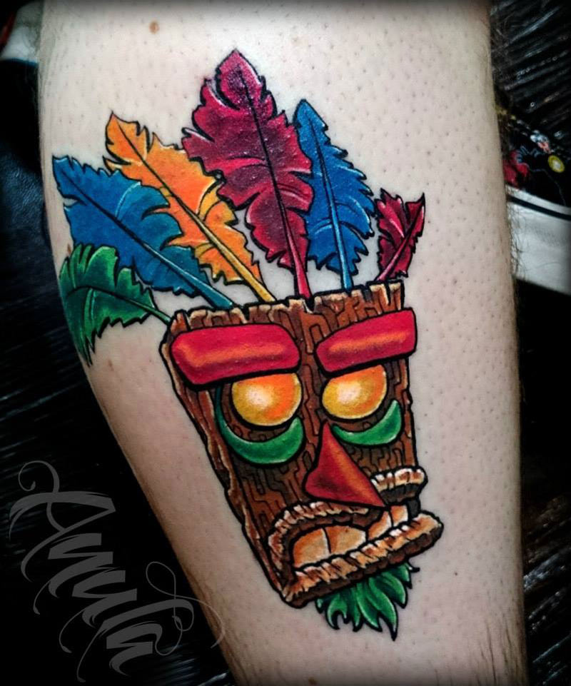 Aku Aku Mask - Crash Bandicoot
