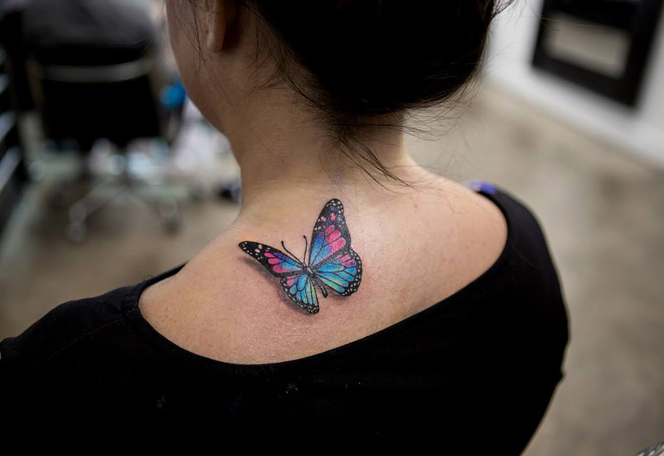 Pretty butterfly tattoo best tattoo design ideas for Cute butterfly tattoos