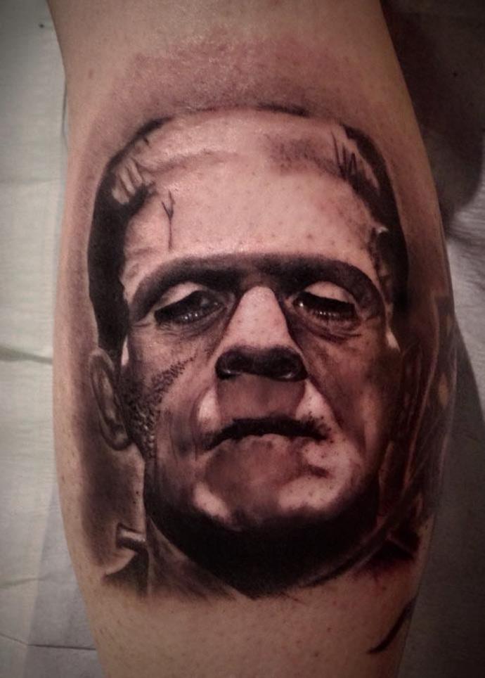 Frankenstein Tattoo