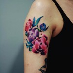 Flowers Arm Tatoo