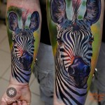 Zebra Tattoo