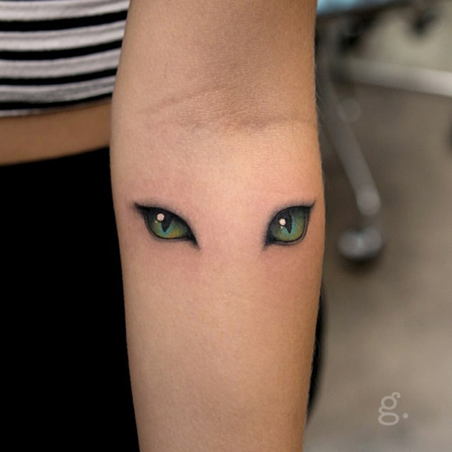 cats eyes best tattoo design ideas
