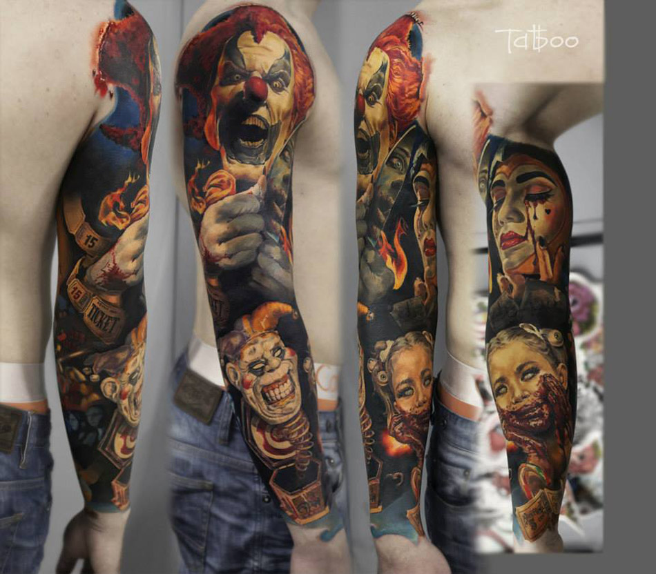 Clown Sleeve