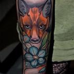 Fox & Flowers