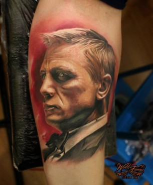 James Bond Tattoo