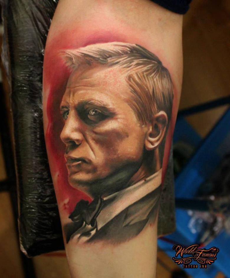James Bond 007 Tattoo
